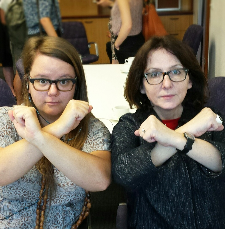 Susan Hutchinson and Dubravka Simonovic 'get cross' about sexual violence in armed conflict